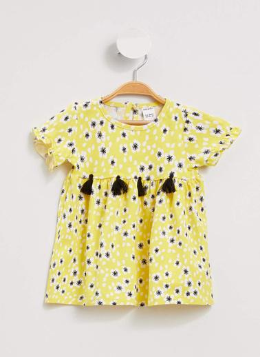 DeFacto Elbise Sarı